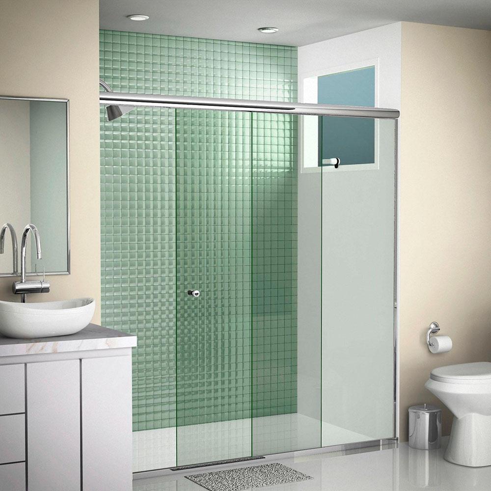 Box para banheiro em BH pelo melhor preço  Max Persianas -> Box Banheiro Blindex Decorado